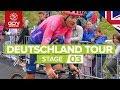 Deutschland Tour 2019 Stage 3 Highlights: Göttingen - Eisenach | GCN Racing