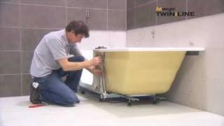 Montage / Installation Artweger TWINLINE 2 Duschbadewanne / shower bath