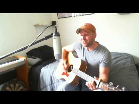 Crying On A Suitcase - Casey James (Tyler Folkerts Acoustic Cover)