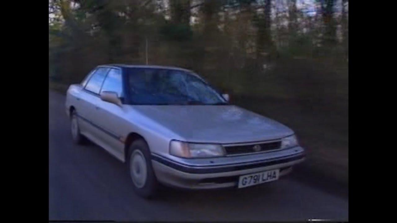 old top gear - 1990 subaru legacy - youtube