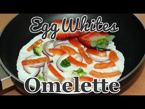 Egg Whites Omelette  | Flo Chinyere