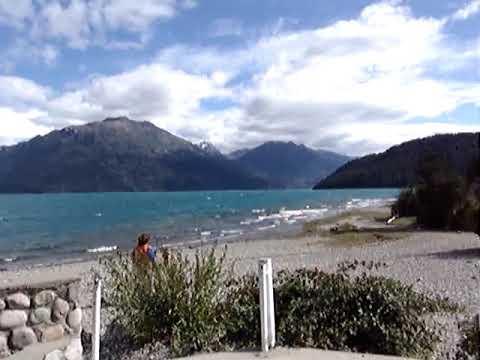 Puelo lake - Patagonia Argentina - Amazing Landscape Mountains view!