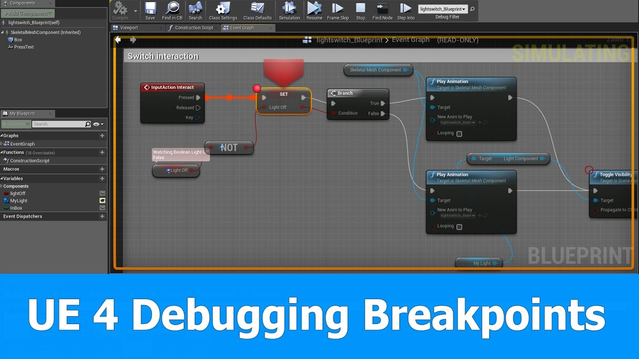 Unreal engine 4 debugging blueprints breakpoints youtube unreal engine 4 debugging blueprints breakpoints malvernweather Choice Image