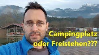 Wohnen im Auto | Campingplatz oder Freistehen