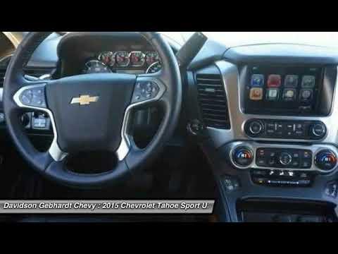 2015 Chevrolet Tahoe land CO C3672 - YouTube
