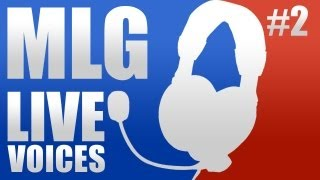 MLG Live Voices: Zealot CTF - (Halo Reach live gameplay)