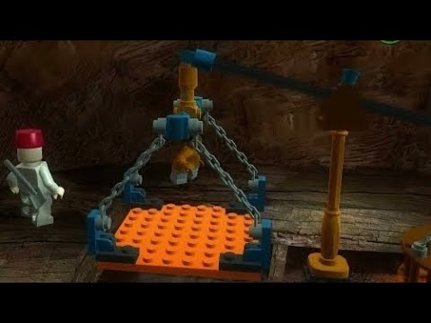 Lego Indiana Jones | Temple Of The Grail 100% | Last Crusade | KJACKB |