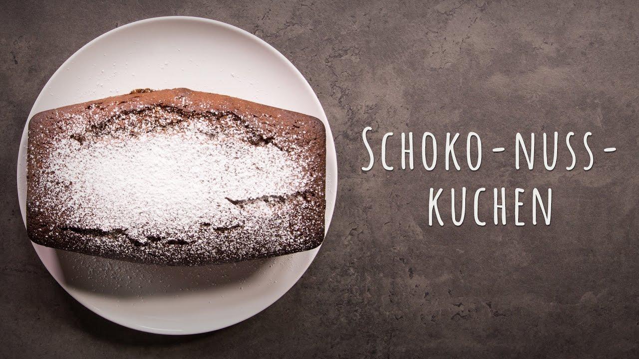 Schoko Nuss Kuchen Rezept Youtube