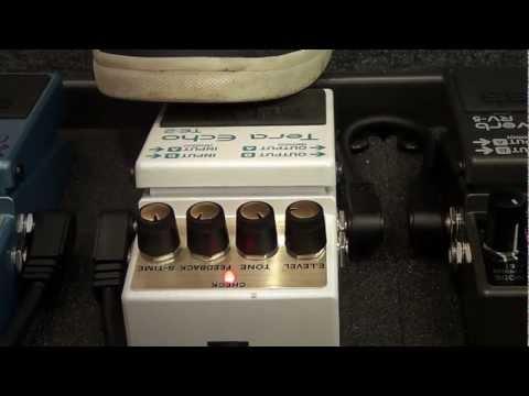 Boss TE-2 Tera Echo pedal - Freeze Function