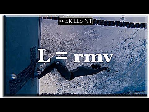 Physics of flip turn. Physics of swimming part 5