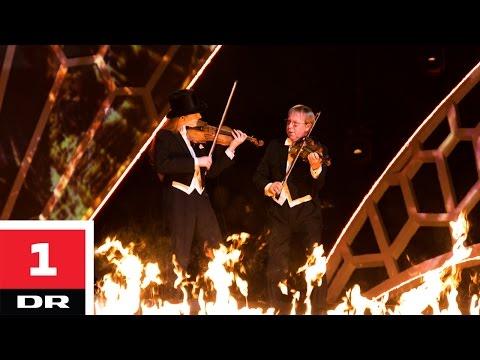 Villads og Kim Sjøgren spiller Vivaldi og AC/DC | Vidunderbørn | Finale | DR1