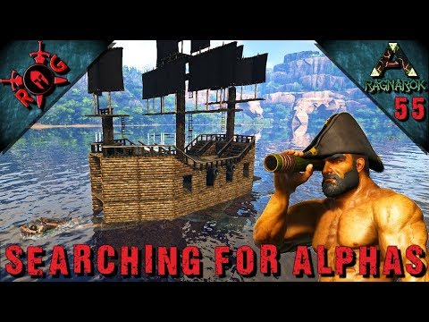 ARK: SEARCHING FOR ALPHAS! ALPHA LEEDS & ALPHA MOSA | Ep 55  [Vanilla w/ S+] [Sons of AnARKy]