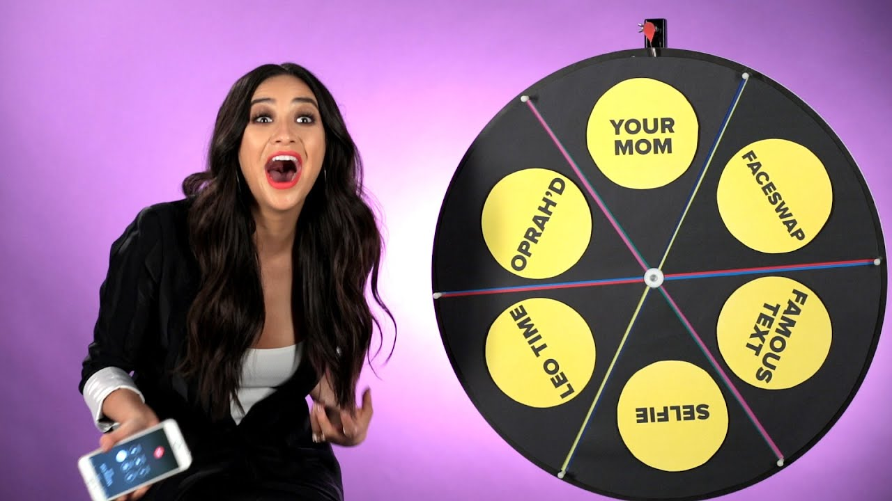 Shay Mitchell Plays The Wheel Of Dares
