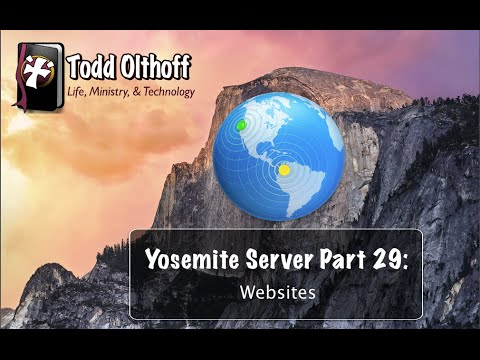 Yosemite Server Part 29: Websites