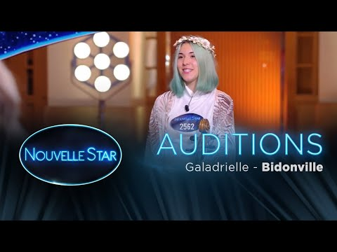 Galadrielle: Bidonville - Auditions - Nouvelle Star 2017