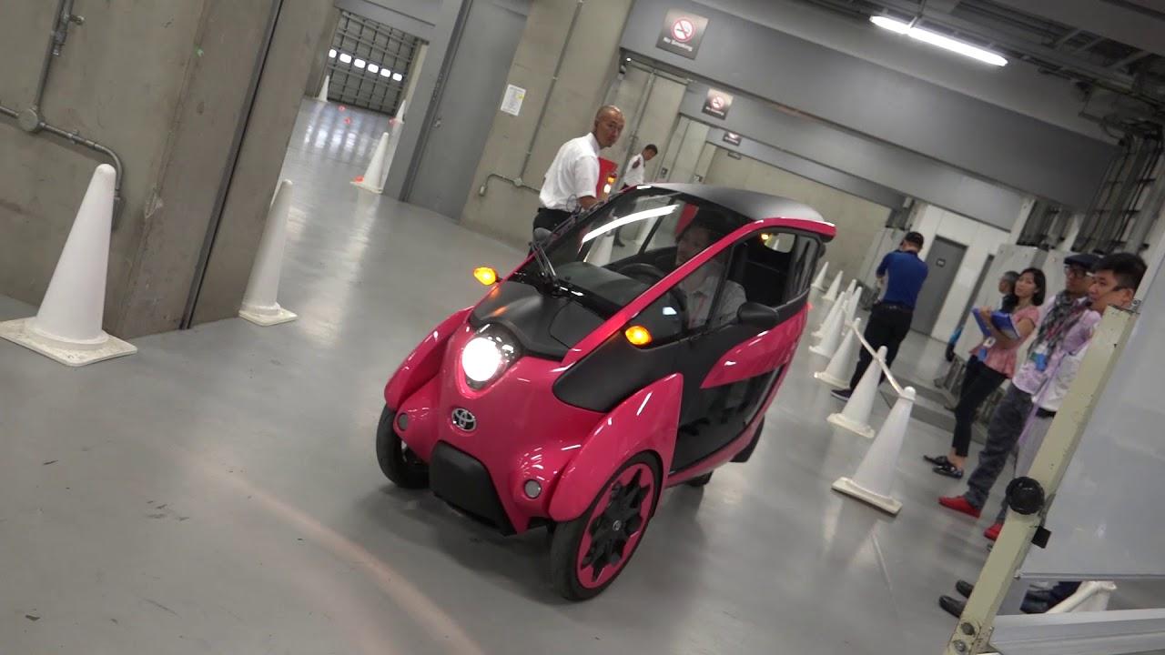 [VMS18] Những điều chưa biết về xe concept 3 bánh Toyota i-Road - Lái không giống ai | Xe.tinhte.vn