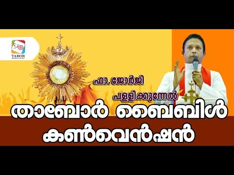 Fr Georgi Pallikunnel  Tabor Bible Convention 16-03-2019