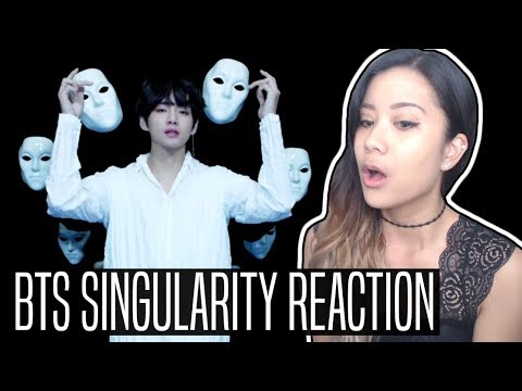 BTS (방탄소년단) 轉 TEAR 'SINGULARITY' REACTION | So rude!