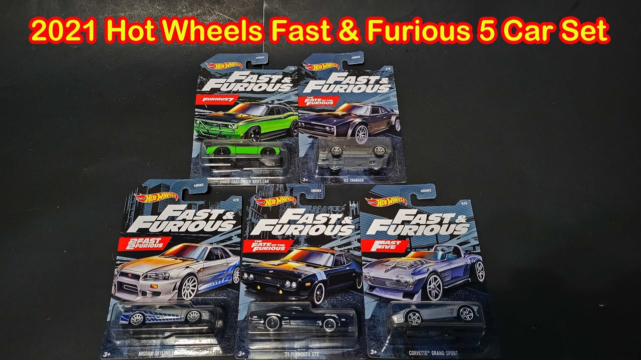 Opening Hot Wheels 2021 Fast and Furious Set