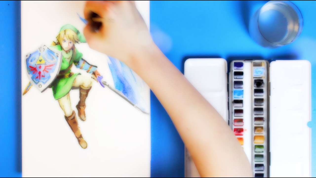 Game with watercolor - Game With Watercolor 10