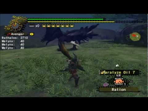 Monster Hunter 2 Dos Rathalos Bow Guide