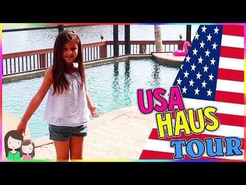 FLORIDA MEGA LUXUS FERIENHAUS TOUR 🌞 Room Tour USA mit POOL 😍 Alles Ava