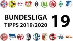 Bundesligatipps 19.Spieltag 2019/2020