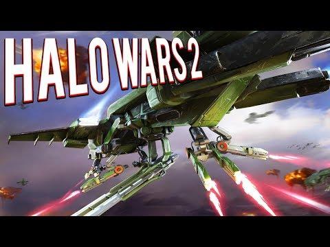 CONDOR AIR FLEET - HALO WARS 2 GAMEPLAY 😈😈😔😡👿👿