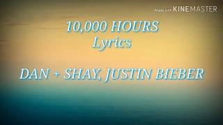 Gambar cover Dan + Shay, Justin Bieber - 10,000 Hours (Lyrics)