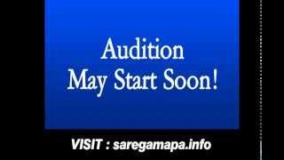 Saregamapa 2014 audition dates, registration, kolkata,mumbai,delhi,indore,form,online