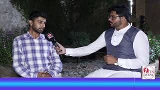 Chairman Sherwani Foundation Dr. Shariq Ali Khan giving an interview about SF.