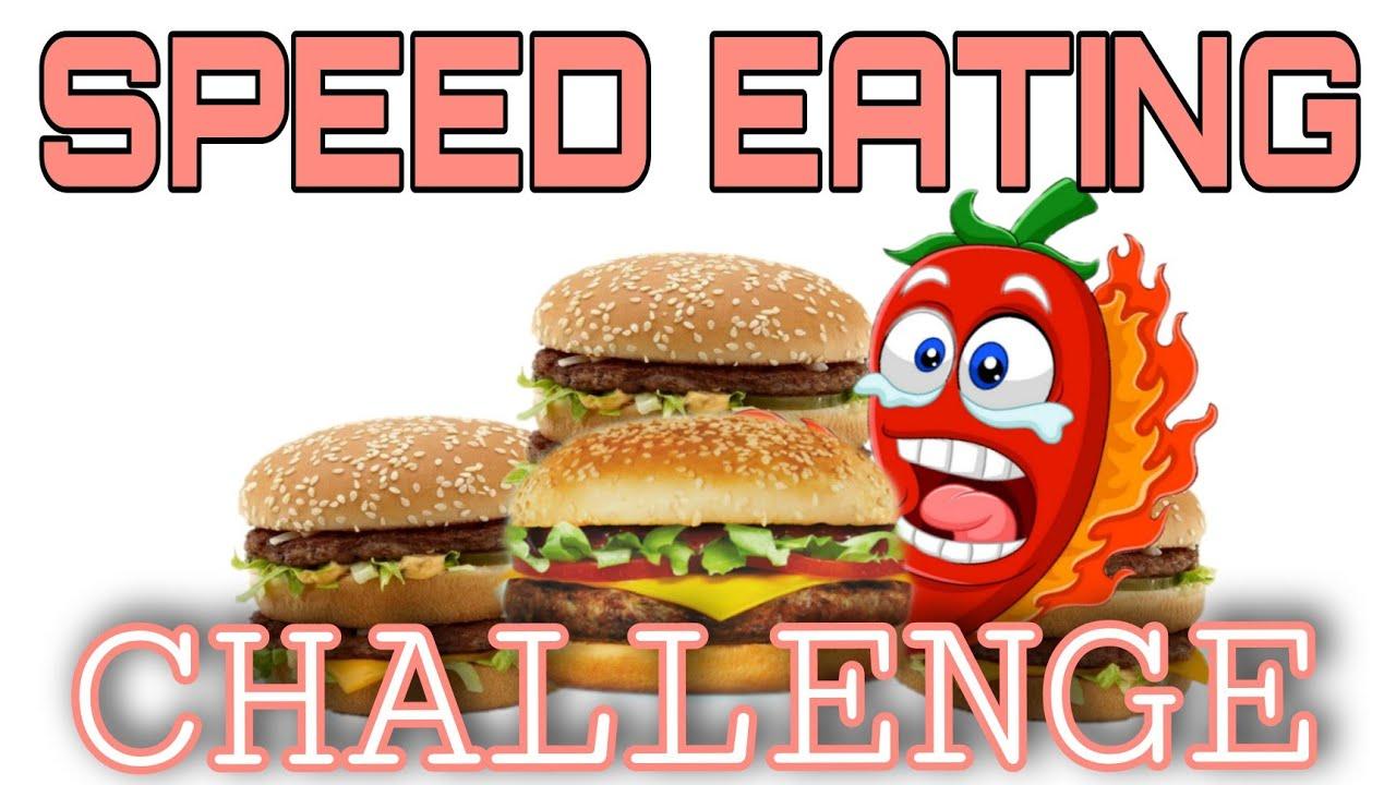 SPEED EATING CHALLENGE || Aly Marikit