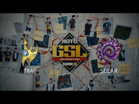 2017 GSL S2 Ro32 Group E Match 2: Solar (Z) vs Trap (P)