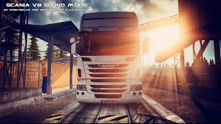 ets2 1 24   scania r500 v8   stock sound mod v3 download