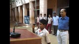 N.C.P MPL HR SEC SCHOOL DHARAPURAM(kamarajar birth day speech)iraniyan 7a