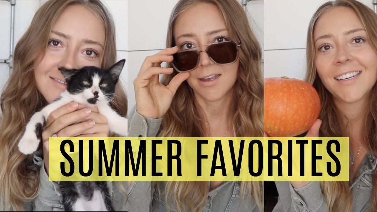 SUMMER FAVORITES + GO ON VACATION WITH ME :)