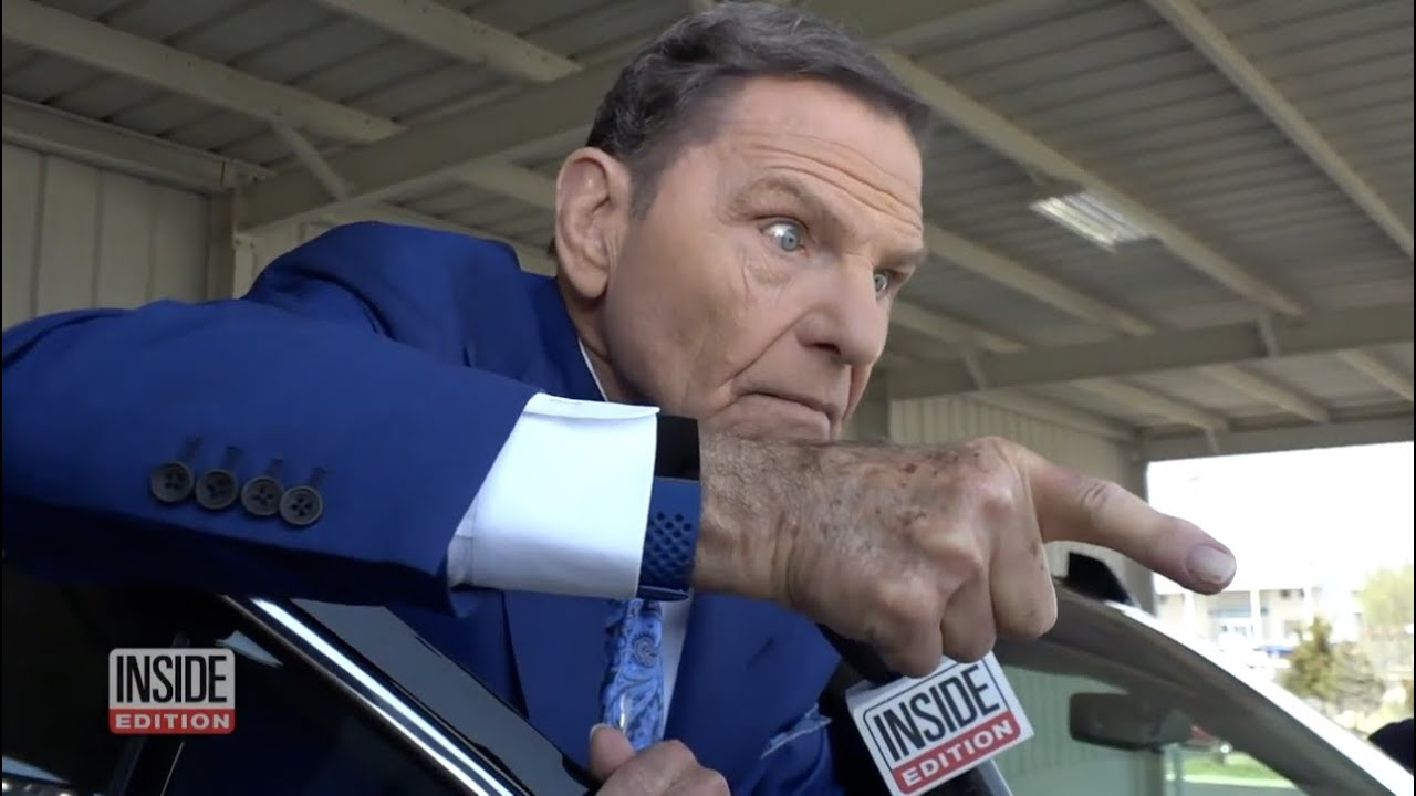 Kenneth Copeland Acting Crazy with Reporter! Awkward! - YouTube