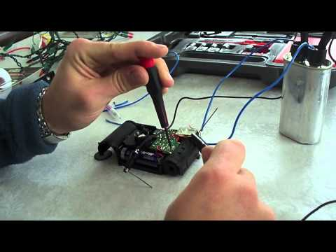 Charging HV Capacitors