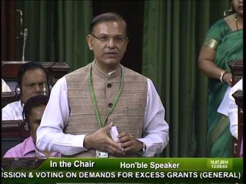 Jayant Sinha budget speech (1/2)