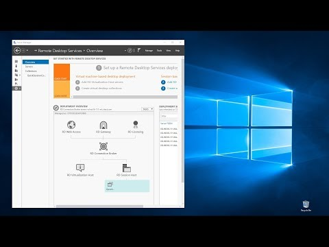 Windows Server Remote Desktop Services And RDS Web Client (Full Tutorial Demo)