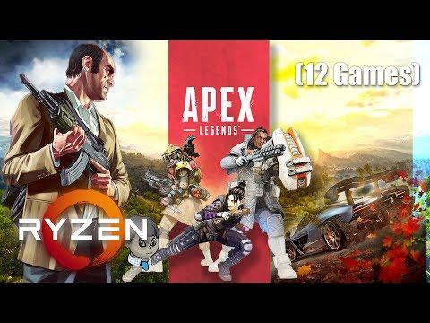 "Ryzen 5 3500U APU (""Vega 8"") Tested with 12 Games [1]"