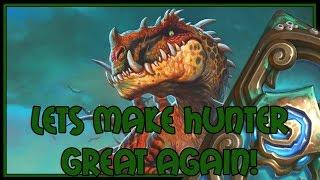 Hearthstone: Lets make hunter great again! (midrange hunter v2)