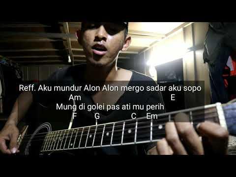 Lirik Dan Kunci Dasar Lagu Guyon Waton Version By Ilux Id Mundur Alon Alon