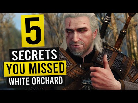 WITCHER 3: 5 Hidden Details You May Have Missed in White Orchard!