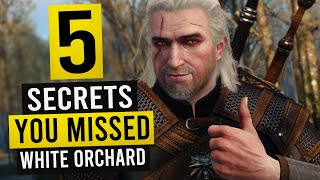 Download lagu WITCHER 3: 5 Hidden Details You May Have Missed in White Orchard!