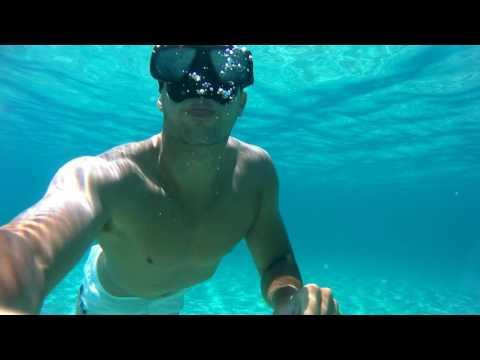 Exploring Naxos  (Elephone explorer 4K Underwater 1080p 60fps)