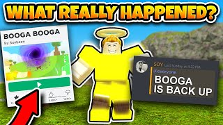 BOOGA BOOGA IS BACK! *ANTI CHEAT REMOVED?* UPDATE (Roblox Booga Booga)
