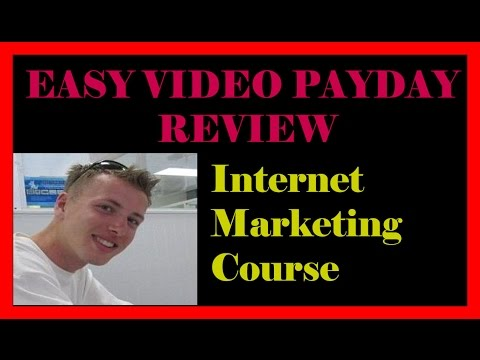 Internet Marketing Training EVP2 - Easy Video Payday Review -  How to make passive income online