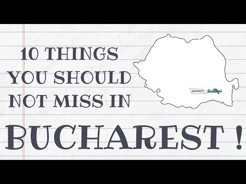 TOP 10 THINGS TO DO IN BUCHAREST, ROMANIA    BEST TRAVEL GUIDE