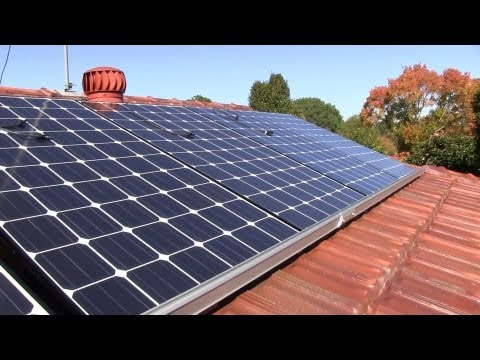 Home Solar System Installation Time Lapse